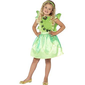 Waldfee Kostüm Mädchen Fee Forest Fairy Kinderkostüm