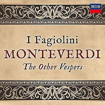 Monteverdi / Hollingworth, Robert / I Fagiolini - Monteverdi: vêpres autres [CD] USA import