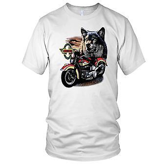 Wolf Hog klassiske Biker slitasje motorsykkel motorsykkel Kids T skjorte