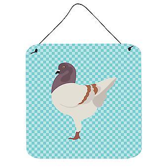 Modène allemand Pigeon bleu cocher mur ou porte accrocher impressions