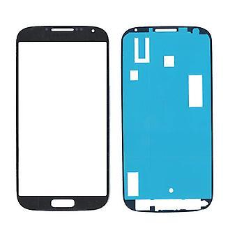Samsung Galaxy S4 i9500 glass/screen/display with sticker-black