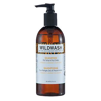 Wildwash Natural Coat & Skin Care Dog Shampoo For Itchy or Dry Coats
