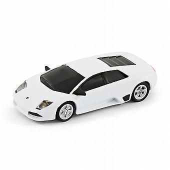 Lamborghini Murcielago auton tietokone USB-muistitikku 4GB - Valkoinen