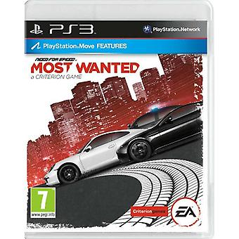 Need for Speed Most Wanted (PS3) - Nouveau