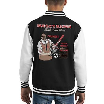 Texas Chainsaw Massacre Bubbas Ranch Kid's Varsity Jacket