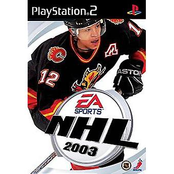 NHL 2003 (PS2)-in de fabriek verzegeld