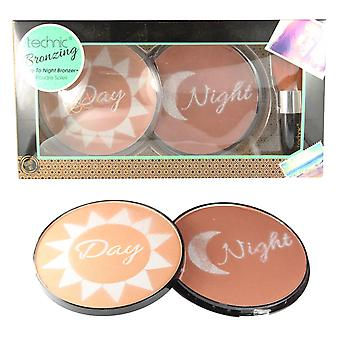 Technic Bronzing Day To Night Jumbo Bronzer Gift Set