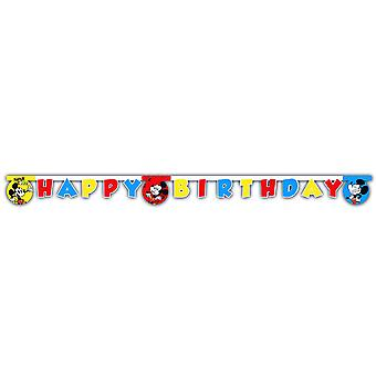 Mickey super cool Micky Maus party Garland approx 170 cm Kids Birthday 1 piece