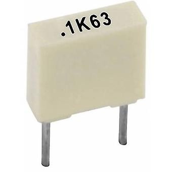 Kemet R82DC3100AA50K+ 1 pc(s) PET capacitor Radial lead 100 nF 63 V 10 % 5 mm (L x W x H) 7.2 x 2.5 mm x 6.5 mm