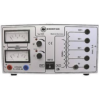 Statron 5340,1 Bench PSU (tensiune reglabilă) 0-12 V C.A. 3 A 72 W nr. de ieșiri 2 x