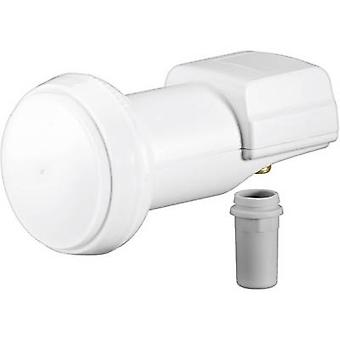 Goobay Universal Single LNB No. of participants: 1 LNB feed size: 40 mm gold-plated terminals