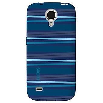Skech Groove Case for Samsung S4 Mini - Blue