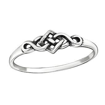 Celtic - 925 Sterling Silver Plain Rings - W32295X