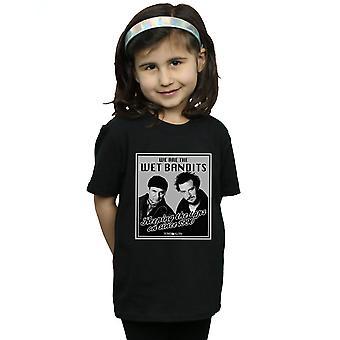 Kotiin yksin tytöt märkä rosvot t-paita