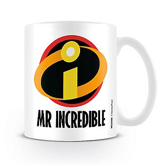 Incredibles 2 kop Mr. incredible hvide, trykt, keramiske, kapacitet ca. 320 ml...