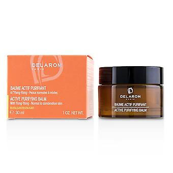 Delarom Active Purifying Balm - For Normal To Combination Skin - 30ml/1oz