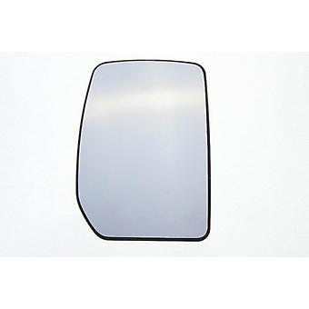 Høyre speil glass (ikke oppvarmet) & holder til Ford TRANSIT van 2000-2014