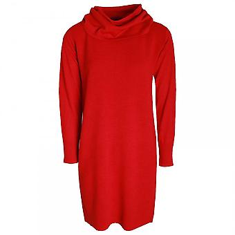 Betty Barclay Polo Neck Long Sleeve Knitted Dress