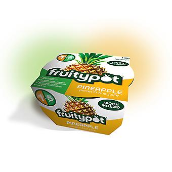 Fruitypot Pineapple in Juice Pots