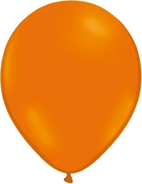 Ballong orange/röd 24-pack - 12 orange och 12 röda