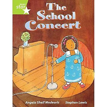 Rigby stjärnigt guidad Lime nivå: Skolan konsert singeln