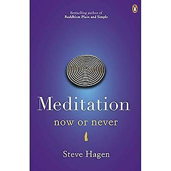 Meditación ahora o nunca