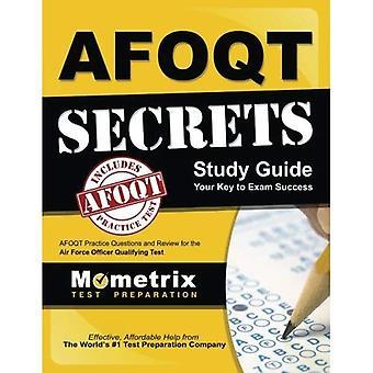 Afoqt hemligheter Study Guide: Afoqt Test Review till Air Force Officer kvalificerande Test