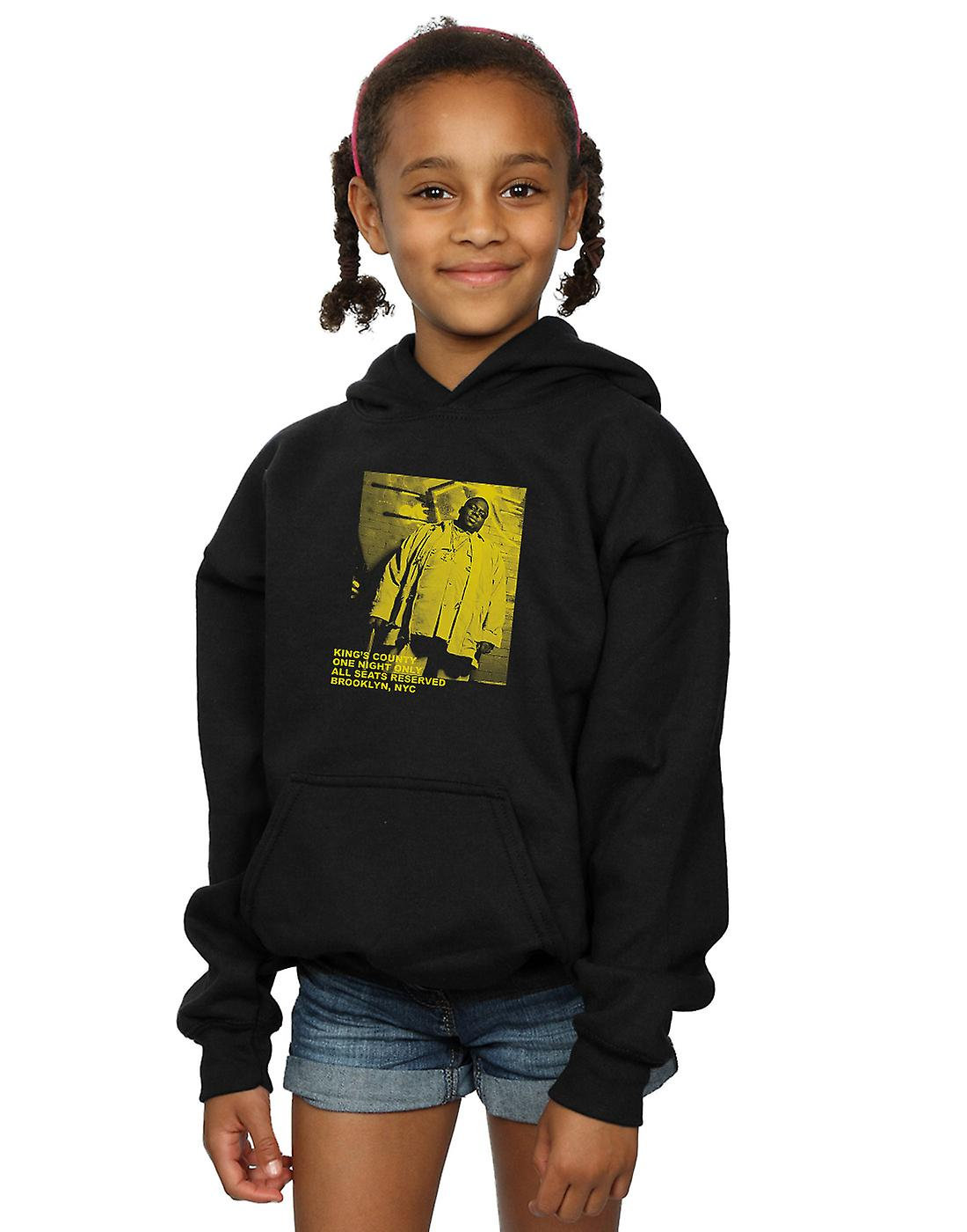 Notorious BIG Girls One Night Only Neon Hoodie