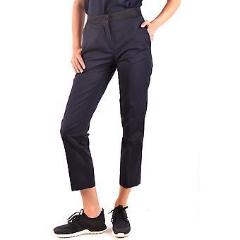 Moncler Ezbc014034 Women's Blue Polyester Pants