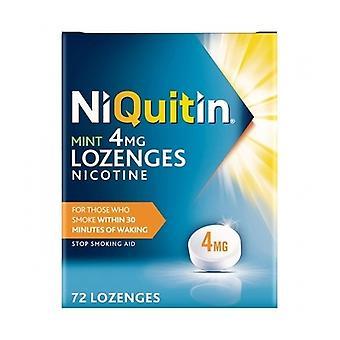Niquitin Lozenge Mint 4Mg 72