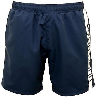 BOSS Dolphin Logo Swim Shorts, Navy