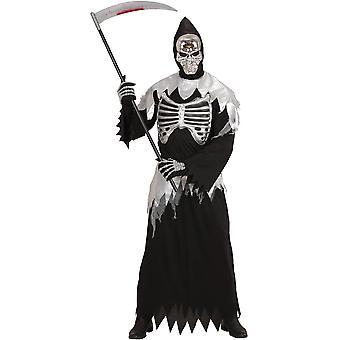 Herren Kostüme Sensenmann Halloween Anzug für Erwachsene