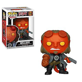 Funko POP Movies Hellboy with BPRD Tee Collectible Figure Toy