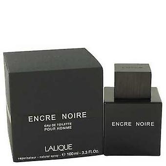 Encre Noire Por Lalique Eau De Toilette Spray 3.4 Oz (hombres) V728-460232