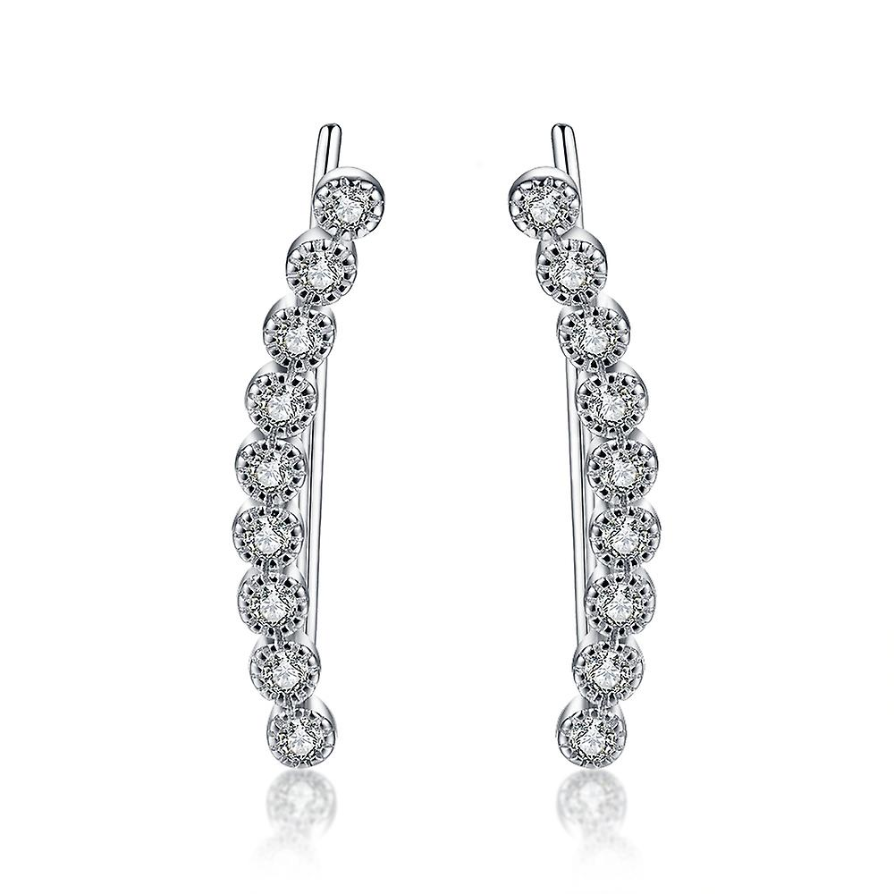 925 Bubble Climber Earrings