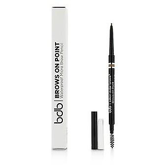 Billion Dollar Brows Brows On Point Waterproof Micro Brow Pencil - Light Brown - 0.045g/0.002oz