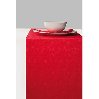 Ambiente Paper taulukko Runner, 33cm x 6m Elegance punainen
