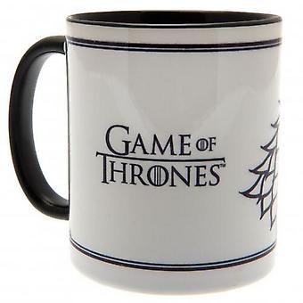 Omgång Thrones skarp mugg