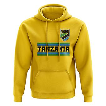 Tansania Core Football Country Hoody (Gelb)