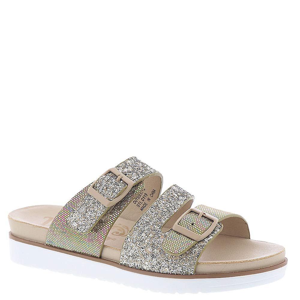 Very G Womens Wild Side Open Toe Casual Slide Sandals 7RVLU