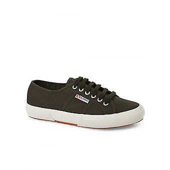 Superga schoeisel Classic Lace up Pump zwart/Olive