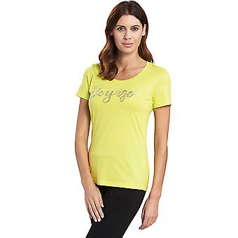 Féraud 3195352-11371 Naiset's Voyage Lime Yellow Loungewear Top