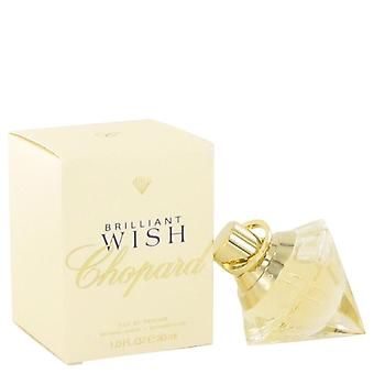 Brilliant wish eau de parfum spray by chopard 514141 30 ml