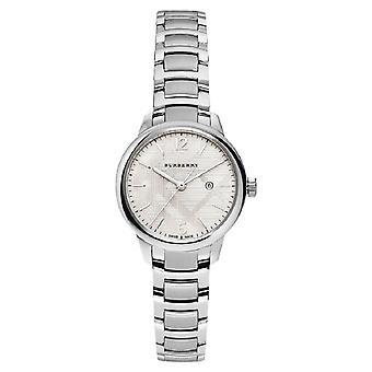 Burberry Bu10108 pulsera Suiza de acero inoxidable reloj