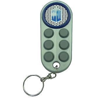 Doctor Who Monster Keyfob Effets sonores Keychain