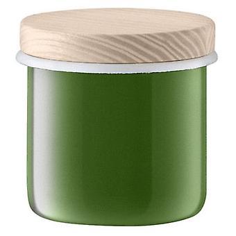 Lsa Utility Lid Container & Ash Ø9 Cm Sage Green *
