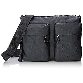 Mandarin Duck Md20 Lux Women's Grey/Titanium strap bag 10x21x28.5 cm (B x H x T)