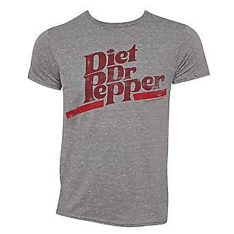 Régime Dr Pepper Logo tee-shirt gris
