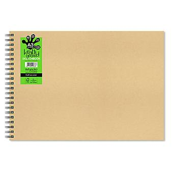 Artgecko krafty Gecko kaikki Media Sketchbook a3 (vaaka)