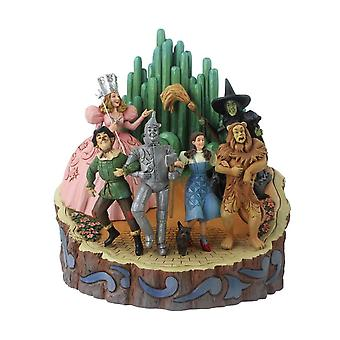 The Wizard of Oz Adventure to the Emerald City 'Carved By Heart' Figurine